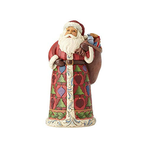 Heartwood Creek Santa With Toy Bag Figurine