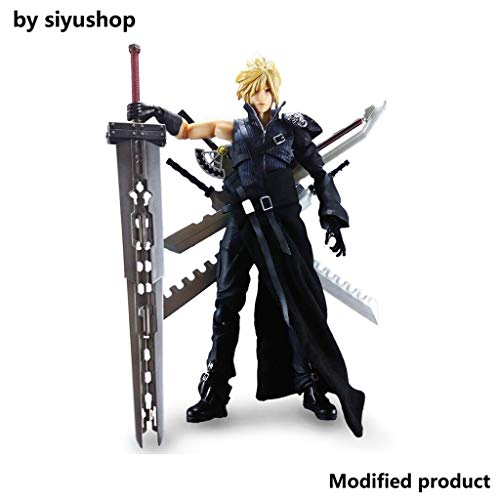 Siyushop Play Arts Kai Wolkenstreit Final Fantasy: Advent Kinder Actionfigur - Ausgestattet Mit...