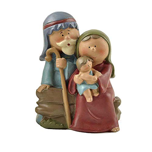 crazerop Christus Geburt Weihnachtskrippe Krippenfiguren Jesus Ornament, Harz Figuren Handwerk...