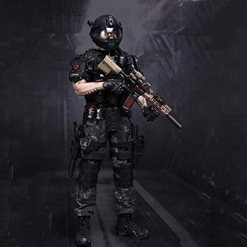 MXUS Militärsoldat Actionfiguren 1/6 Hochwertige Titans PMC Frank Casey Spielzeugstatue, PVC...