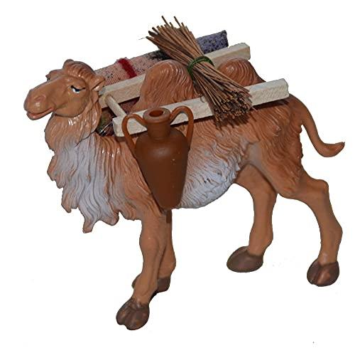 Krippenzubehör Kamel mit Gepäck für Weihnachtskrippe Krippe Krippen