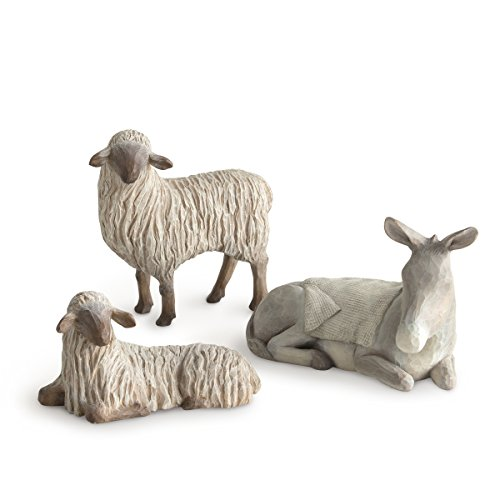 Willow Tree Products Sanfte Tiere 11.7 x 9.4 Gentle Animals of The Stable for The Christmas Story