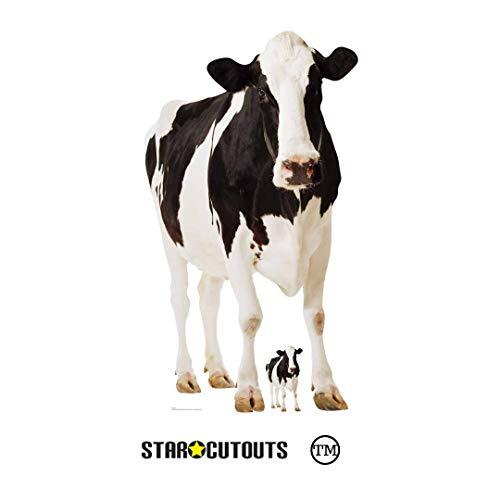 Star Cutouts Pappaufsteller Kuh