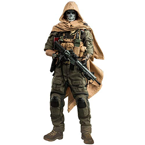 Delili 1/6 Doomsday End War Todesschwadron Actionfigur Soldat Puppenspielzeug Modernes Battlefield...