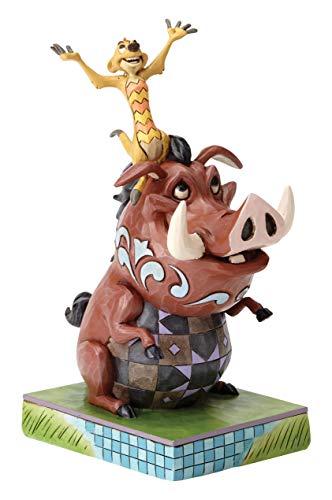 Disney Tradition Carefree Cohorts (Timon & Pumbaa Figur)