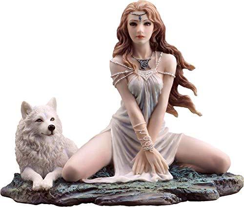 Joh. Vogler GmbH Prinzessin mit Wolf by Selina Fenech Fee Fairy Elfe Figur