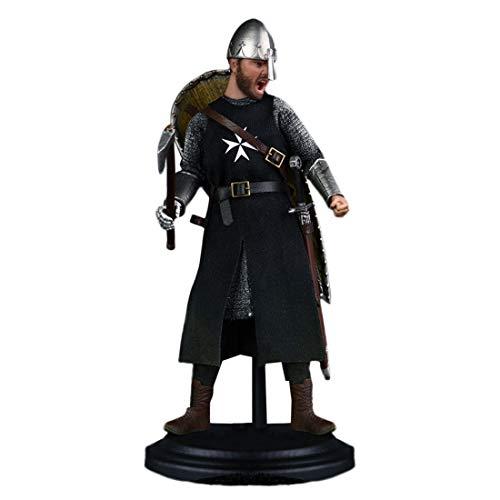 Searchyou Soldat Actionfigur Modell, 1/12 15cm Actionfigur Realistische Kopfform DIY Ritter des...