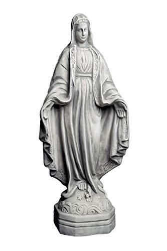 gartendekoparadies.de Massive Steinfigur Statue Figur heilige Madonna Maria Mutter Gottes aus...