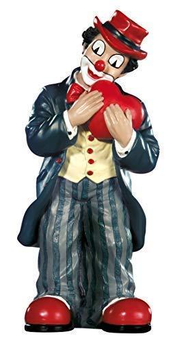 Gildeclown Herzklopfen - Dekofigur und Sammlerstück handgefertigt H 9 cm