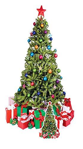 Star Cutouts Pappaufsteller von Weihnachtsbaum