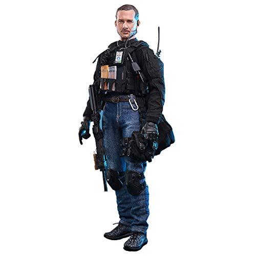 Batop 1/6 Soldat Modell, 12 Zoll Soldat Actionfigur Modell Spielzeug Militär Figuren Zubehör - CIA...