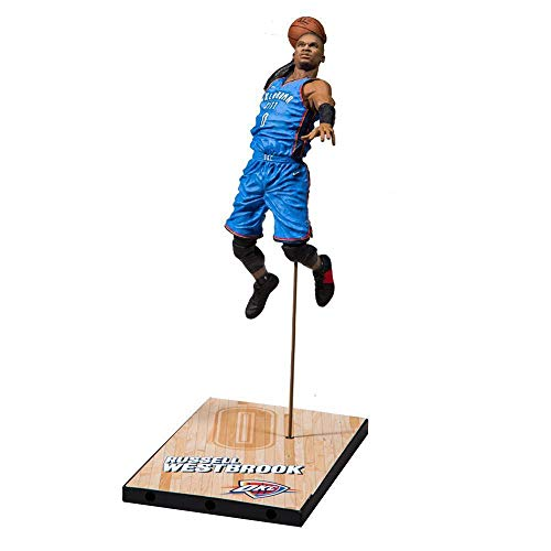 McFarlane NBA 2K19 Russell Westbrook Oklahoma City Thunder Action Figur (18 cm)