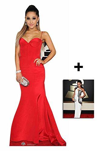 Fan Pack - Ariana Grande Lebensgrosse Pappfiguren / Stehplatzinhaber / Aufsteller - Enthält 8X10...