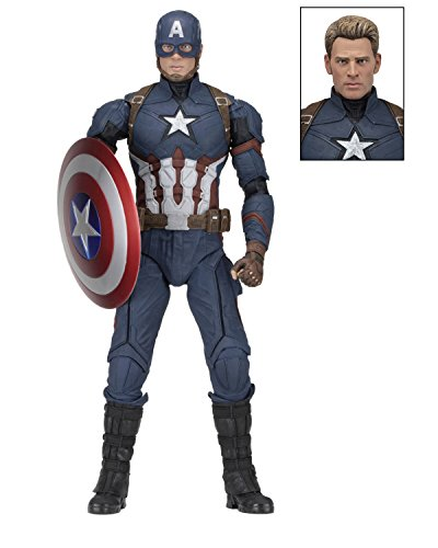 Neca Captain America Civil War Action Figure 1/4 Captain America 45 cm Marvel