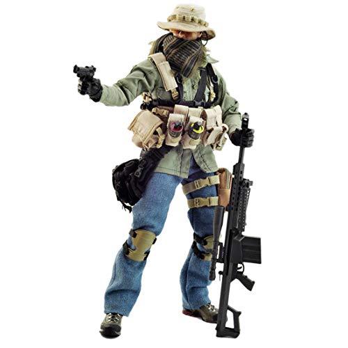 Batop Scharfschütze Kostüm Figuren Zubehör für 1/6 Soldat Actionfigur Modell Spielzeug Figuren...