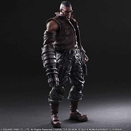 FINAL FANTASY – 603874 – Figur – 7 Remake – Play Arts Kai N 2 – Baret Wallace