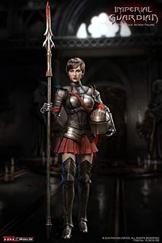 UXD YYBB 1/6 Maßstab Wächter des Reiches weibliche Soldat Action-Figuren PVC Statue Sammlung...