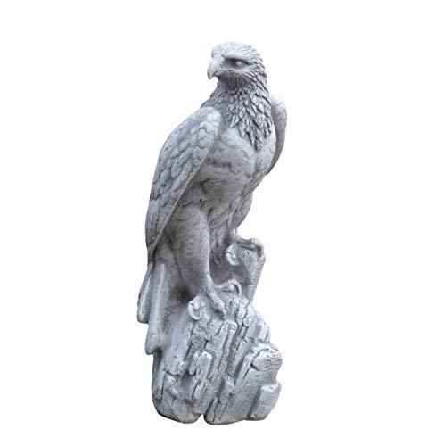gartendekoparadies.de Wunderschöner Adler aus Steinguss, frostfest