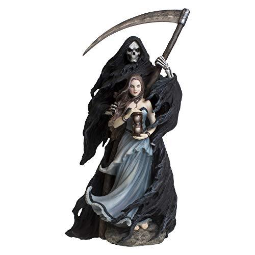 Nemesis Now Summon The Reaper Dekofigur, Kunstharz, 30 cm, Schwarz
