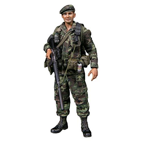 LMIITAM 1/12 15cm Actionfigur 1/12 15cm Actionfigur lebensecht Vietnamkrieg Marine Corps Soldat...