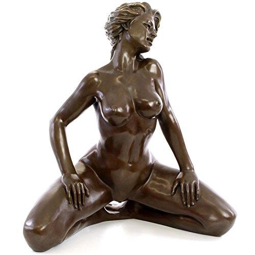 MOREKO Akt Figur Hochwertige Akt-Figur Dekoration Erotik Bronze - ca. 65 cm