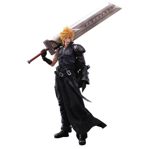 FINAL FANTASY Figur Variant Play Arts Kaï – Cloud Strife VII: Advent Children