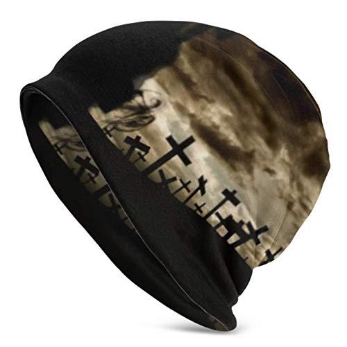 HJHJJ Beanie Hüte für Männer Frauen - warme, Tote Halloween-Figur Slouchy Beanie Cap Tough...