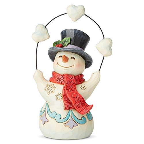 Heartwood Creek by Jim Shore Pint Sized Snowman with Snow Figurine