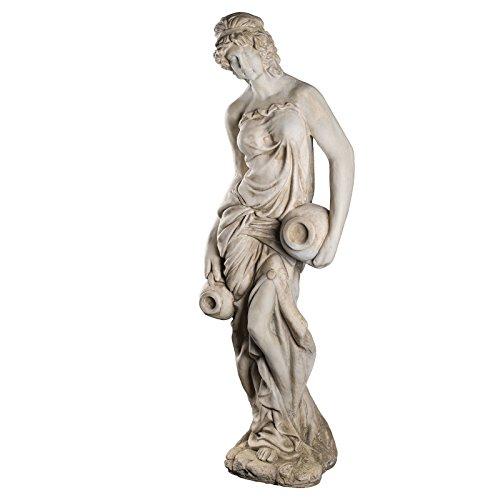 Wetterfeste Riesige XXL schwere (18 kg) Statue antike Wassertägerin 118 cm hoch SYL-A 14017...