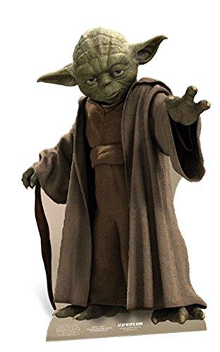 empireposter Star Wars - Yoda Pappaufsteller Standy - ca 76 cm