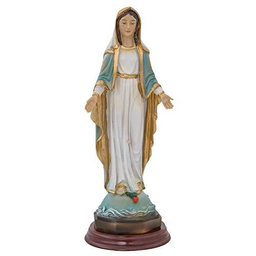 aubaho Skulptur Madonna Heiligenfigur Maria Figur Statue Kunststein 21cm Antik-Stil