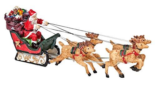 VBS Deko-Figur Weihnachten'Weihnachtsmann on Tour'