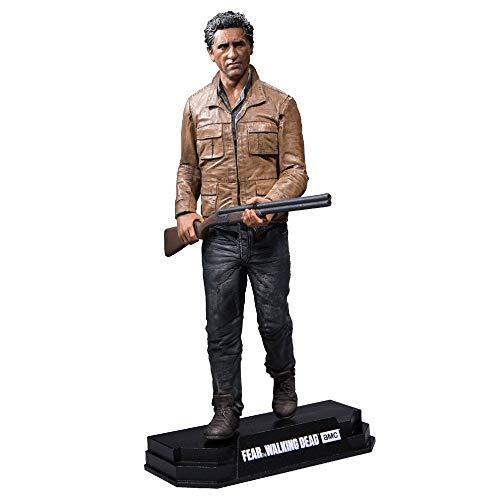 The Walking Dead MF14673 Fear Travis Manawa Action Figure + Stand