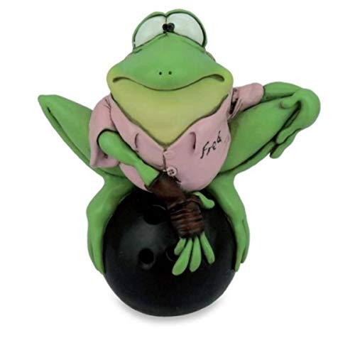 Les Alpes Funny Frosch Sport - Bowling
