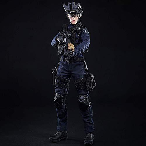 ZSMD 1/6 Figur Militär Modell Figuren Soldier SWAT Frauensoldat Model Soldaten Figur Soldat...