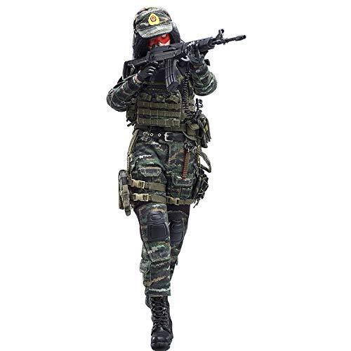 Batop 1/6 Soldat Modell, 12 Zoll Weibliche Soldat Actionfigur Modell Spielzeug Militär Figuren...