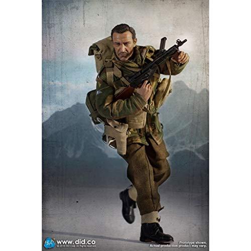 LTY Armee-Militär Spielzeug Action-Figur Maßstab 1/6, 12-Zoll-britischer First Airborne Division...