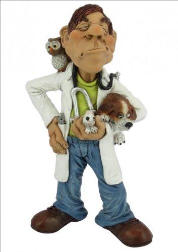 Funny Job Tierarzt Les Alpes Figur Beruf Tier Arzt