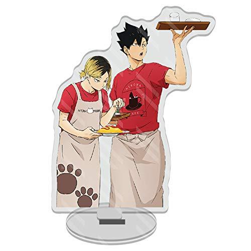 Sweet&rro17 Anime Haikyuu Dounjin Figure Acryl Aufsteller Display Stand Figur Zimmer Deko Desk...