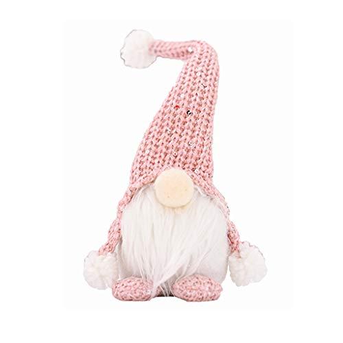 Sayla Weihnachten Puppe Weihnachten Deko Wichtel Handgemachte Wichtel Figuren Weihnachten Deko, Mini...
