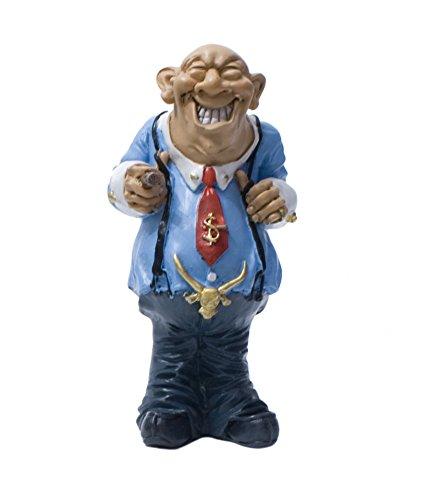 Funny Jobs Berufsfigur Comicfigur Figur Manager Geschäftsmann witzig der Reihe
