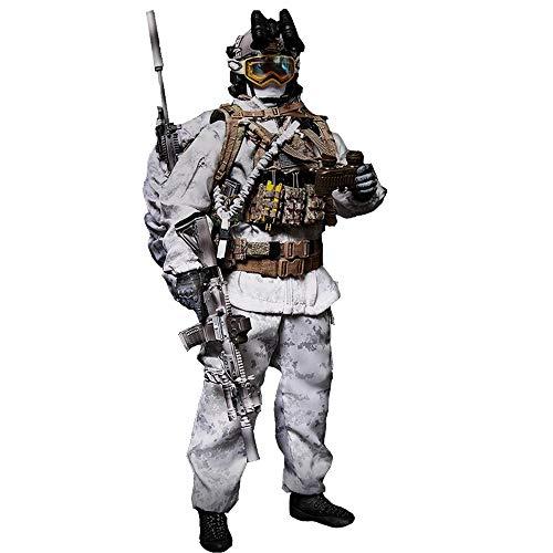 Batop 1/6 Soldat Modell, 12 Zoll Navy Seal Soldat Actionfigur Modell Spielzeug Figuren Militär...