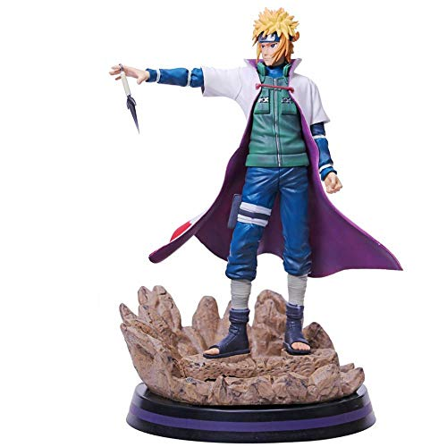 ZYYX Naruto Namikaze Minato Hand Office Puppe Boxed Hand Office 28cm