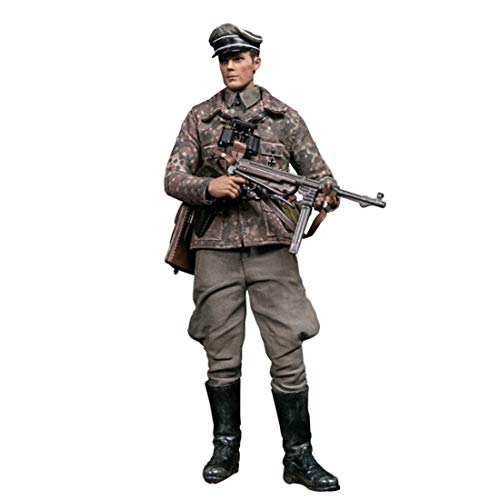 Batop 1/12 Soldat Modell, 15cm WW2 Soldat Actionfigur Modell Spielzeug Figuren Militär Soldat...