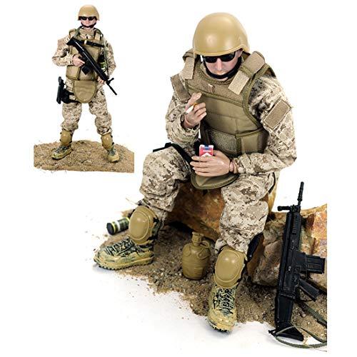 Batop 1/6 Soldat Modell, 12 Zoll Soldaten Spielzeug Figuren Militär Actionfiguren Modell - Navy...