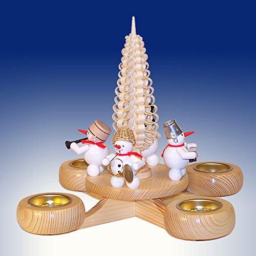 Rudolphs Schatzkiste BxHxt 22,5x22,5x22,5cm Adventskranz Kerze Kerzenleuchter Leuchter Wachskerze...