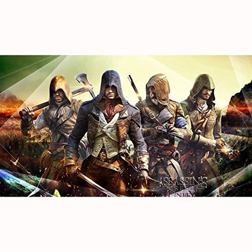 FENGZI Assassin's Creed Unity Games Film: Arno Victor Dorian Puzzles 300/500/1000/1500 Stück für...