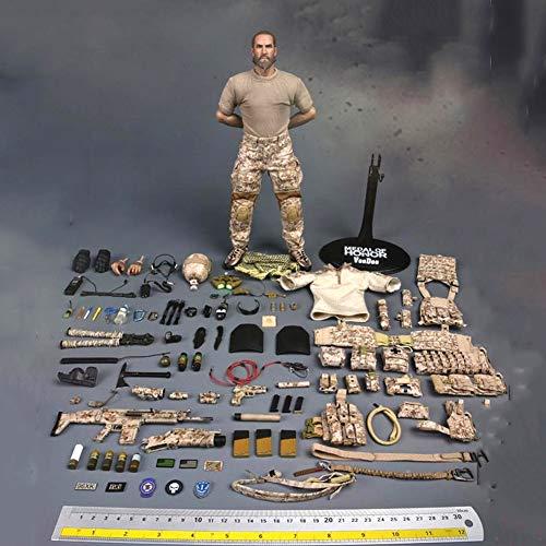 Delili 1/6 Maßstab Soldat Action-Figur Medal of Honor Navy Seal Tier Action-Figur-Modell Geschenke