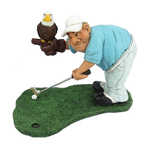 Funny Sports - Golf Eagle Putt Adler auf Hand des Golfers