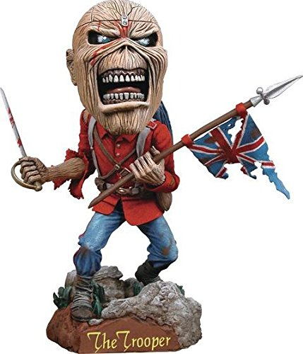 Iron Maiden Eddie Trooper Headknocker aus Kunstharz ca. 20cm groß